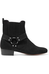 Dieppa Restrepo Suede Ankle Boots Black