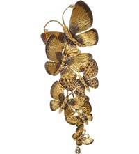 Annoushka Butterfly 18Ct Gold And Brown Diamond Pendant