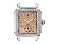 Michele Deco 16 Diamond Metallic Rose Gold Diamond Dial Watch Head Stainless Watches Multi