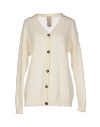 People Knitwear Cardigans Women Ivory