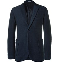 Blue Blue Japan Lim Fit Cotton Twill Blazer Indigo