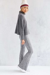 Silence And Noise Silence Noise Space Dye Knit Flare Grey Multi