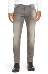 Mavi Jeans 'Jake' Easy Slim Fit Jeans Used Brown White Edge
