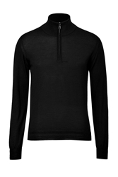 Brioni Cashmere Silk Pullover With Zip