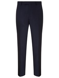 Richard James Mayfair Pick And Pick Suit Trousers Navy