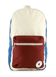 Topman Converse Blue Cream And Red Backpack Multi