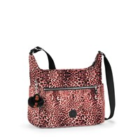 Kipling Alenya Medium Crossbody Shoulder Bag Leopard Print