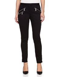 L.A.M.B. Zip Pocket Skinny Pants Black