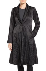 Eileen Fisher Women's Satin Shawl Collar Coat