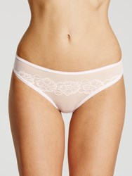 John Lewis Collection By Camille Bikini Briefs Soft Pink