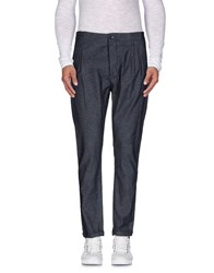 Individual Trousers Casual Trousers Men Slate Blue