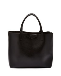 Givenchy Antigona Whipstitch Handle Medium Tote Bag Black