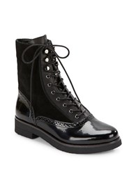 French Connection Vanja Lace Up Boots Black