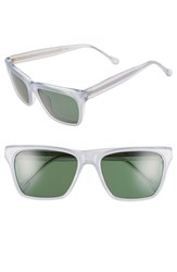 Women's Steven Alan 'Pelton' 56Mm Retro Sunglasses White
