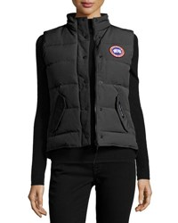 Canada Goose Freestyle Puffer Vest Black 61