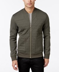 Inc International Concepts Men's Roman Lightweight Quilted Jacket Only At Macy's Green Tea