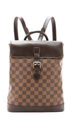 Wgaca Heritage Louis Vuitton Damier Soho Backpack Lv Print