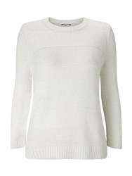 Dash White Cotton Tape Jumper