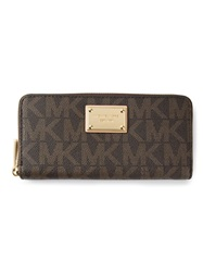 Michael Kors 'Continental' Wallet Brown