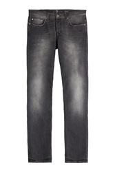 7 For All Mankind Seven For All Mankind Straight Leg Jeans Black