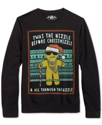 American Rag Men's T'was The Nizzle Sweatshirt Only At Macy's Black