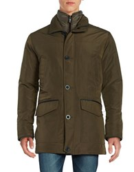 Weatherproof Four Pocket Parka Army