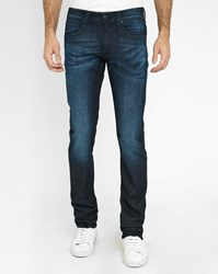 Armani Collezioni Blue Washed J06 Slim Fit Jeans