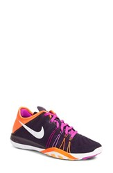 Nike Women's 'Free Tr Fit 6' Training Shoe Violet White Crimson