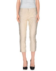 Weber Trousers 3 4 Length Trousers Women Ivory