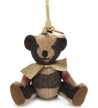 Burberry Thomas Bear Check Charm 12Cm Camel