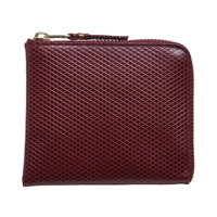 Comme Des Garcons Sa3100lg Luxury Wallet Burgundy
