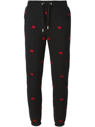 Zoe Karssen 'Lips' Track Pants Black