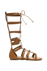 Twelfth St. By Cynthia Vincent Franky Sandal Cognac