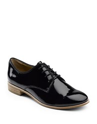 G.H. Bass Ella Patent Leather Oxfords Black