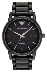 Men's Emporio Armani Ceramic Bracelet Watch 43Mm