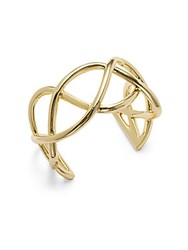 Jules Smith Designs Gold Plated Slip On Cuff Bracelet