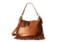 Lucky Brand Rickey Crossbody Hobo Tobacco Hobo Handbags Brown