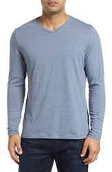 Robert Barakett Men's 'Royce' Pima Cotton V Neck T Shirt Boulder