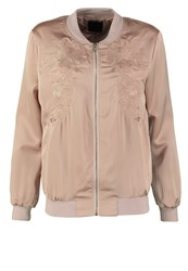 New Look Bomber Jacket Nude