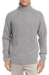 Rodd And Gunn Men's Ribblesdale Cable Knit Lambswool Turtleneck Sweater
