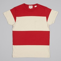 Levi's Vintage Clothing 1950'S Sportswear Tee Bright Red Ecr