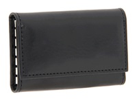 Bosca Old Leather Collection 6 Hook Key Case Black Leather Wallet