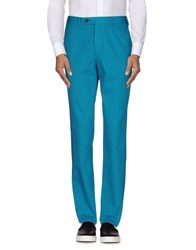 Hentsch Man Trousers Casual Trousers Men Turquoise