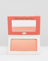 Thebalm In Stain Blush Swiss Dot Orange