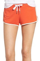 The Laundry Room Women's Lounge Shorts Red Hot