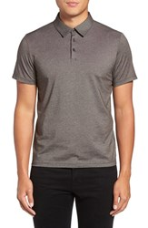 Zachary Prell Men's Tompkins Polo Coffee