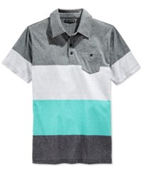 Ocean Current Men's Marius Colorblocked Pocket Polo Indigo