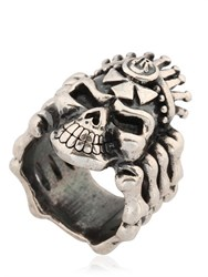John Richmond Skull And Bones Ring