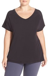 Plus Size Women's Zella 'The Peace' Side Tie Tee