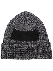 Oamc Contrast Square Beanie Black
